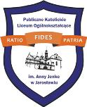 Publiczne Katolickie Liceum Ogólnokształcące w Jarosławiu