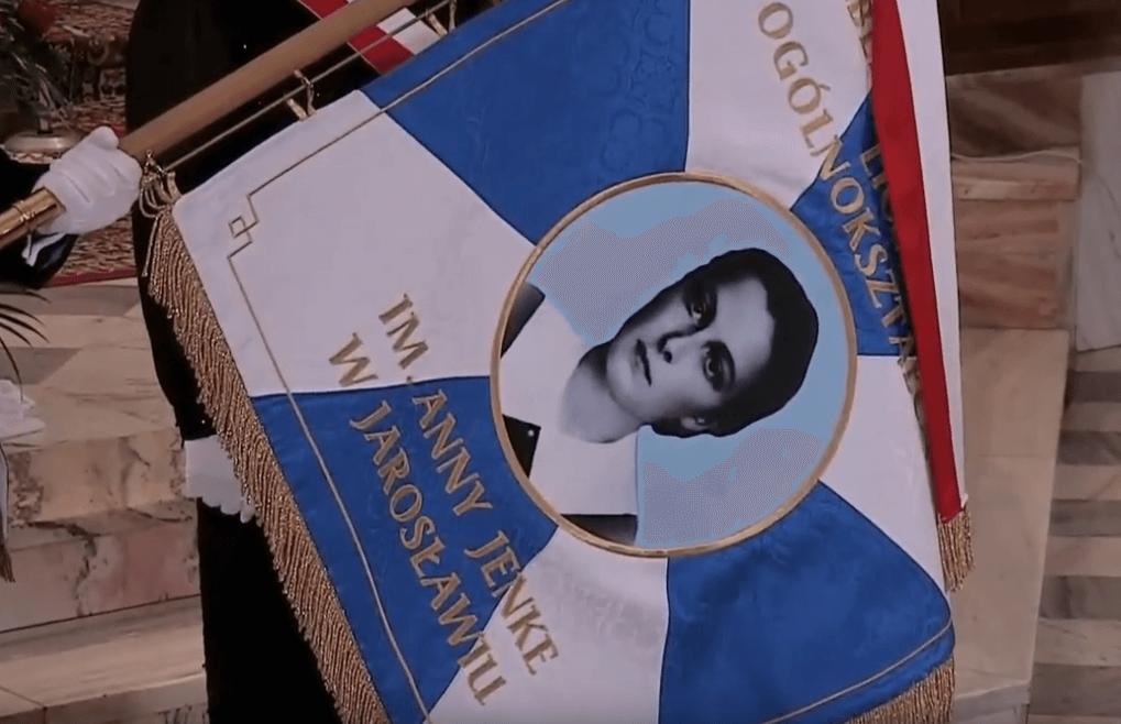 Transmisja uroczystości nadania imienia Anny Jenke Publicznemu Katolickiemu Liceum Ogólnokształcącemu Parafii pw. Bożego Ciała w Jarosławiu.